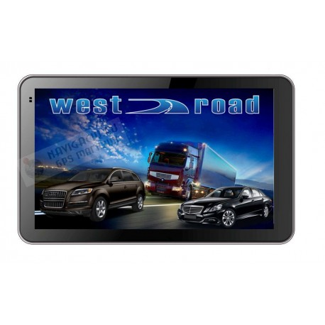 GPS НАВИГАЦИЯ WEST ROAD WR-S5256M 800 MHZ 256 RAM 8GB EU