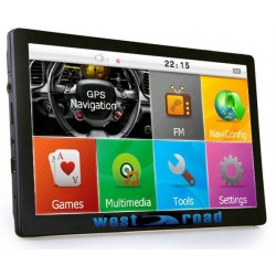 GPS НАВИГАЦИЯ WEST ROAD WR-X808 FMHD 800MHZ EU