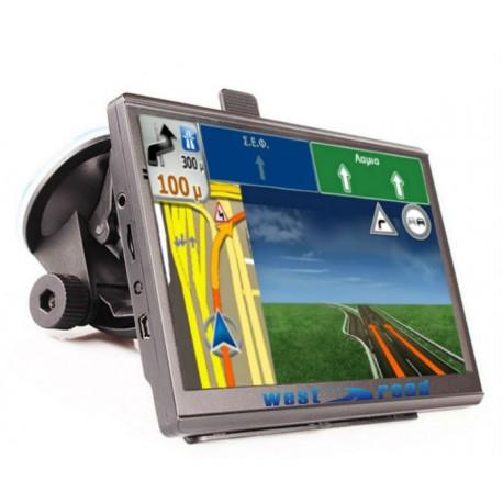 GPS НАВИГАЦИЯ WEST ROAD WR-L7056S EU FM HD 800 MHZ 256MB RAM 8GB