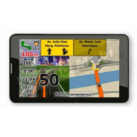 3G ТАБЛЕТ DIVA QC-703GNS С НАВИГАЦИЯ ЗА БЪЛГАРИЯ И ЕВРОПА