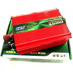 Висококачествен Инвертор на напрежение CEJ 12V или 24V - 220V 500W