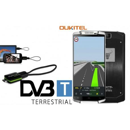OUKITEL K10000 4G-LTE МОБИЛЕН ТЕЛЕФОН, ЧЕРЕН+TV