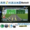 Универсален Двоен Дин с Android, Wi-fi, радио, GPS Навигация, MP3, USB, SD карта, Bluetooth A6925 GPS